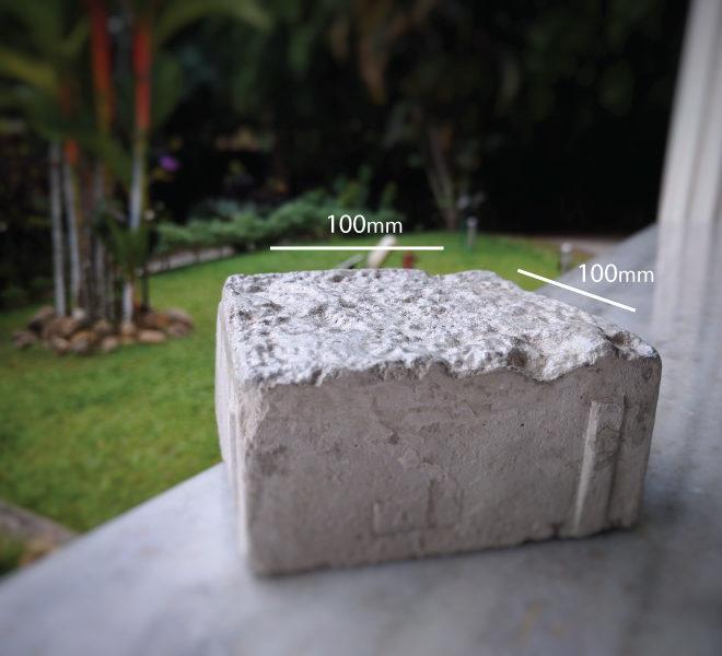 Romanstone Concrete Paver Tile dimension
