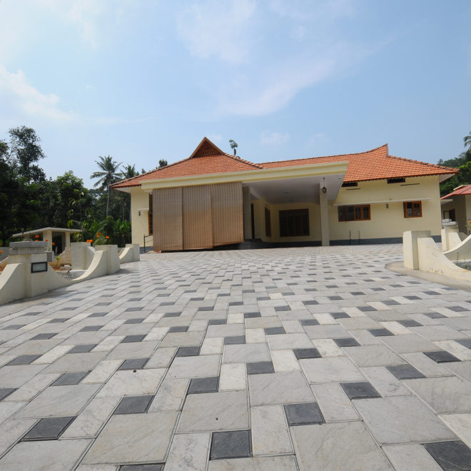Sirex Sandstone on a residence