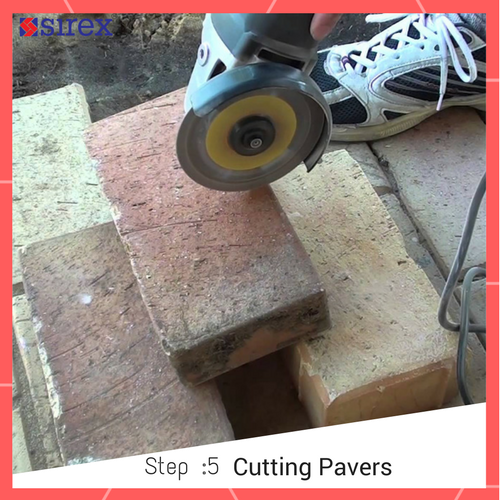 How to Lay Pavers: Cutting Pavers